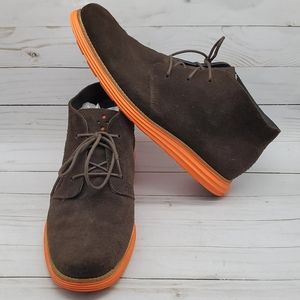 COLE HAAN CHUKKA OXFORD MEN'S SHOES